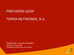 Previsión Q2/05