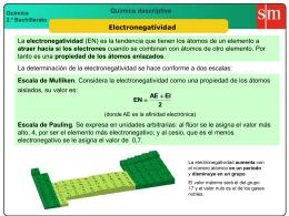 7 electronegatividad