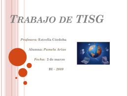 Trabajo de TISG - BI1