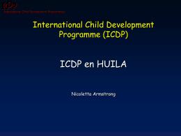 Forma de implementar ICDP en Huila