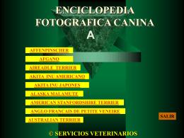 ENCICLOPEDIA FOTOGRAFICA CANINA