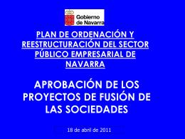 plan de ordenación y reestructuración del