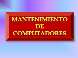 MANTENIMIENTO DE PC 1