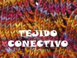 TEJIDO CONJUNTIVO (2002432)