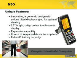 Psion Teklogix Slide Presentation