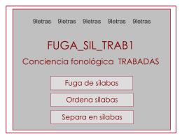 FUGA_SIL_TRAB1 - 9 letras