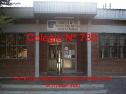 Colegio Nº 730