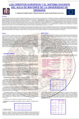 Poster (PowerPoint) - Aula Permanente de Formación Abierta