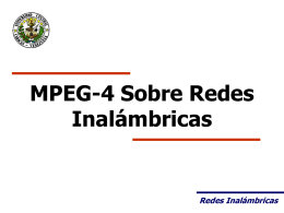 Mpeg-4 Inalambrico