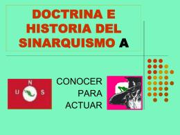 DOCTRINA E HISTORIA DEL SINARQUISMO