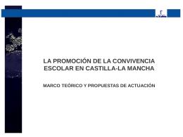 MODELO DE CONVIVENCIA EN CLM