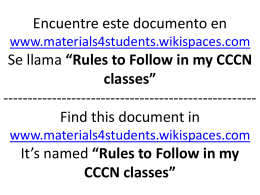 English Version Versión en Español - materials4students