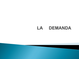 La demanda - WordPress.com