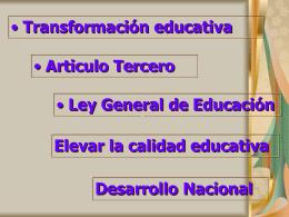 2 Reforma primaria