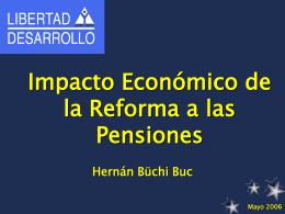 Hernán Büchi - (FIAP) Federación Internacional de Administradoras