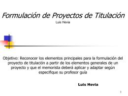 Fase IV: Diseño del Proyecto Seleccionado