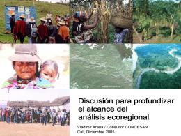 Generación de síntesis ecoregional