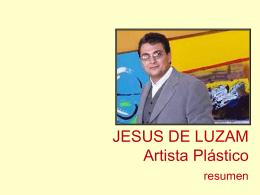 B Dossier artistico de Jesus de Luzam