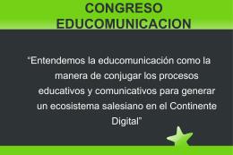 congreso educomunicacion