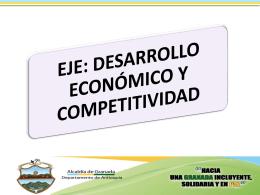 Info. Desarrollo Economico y Competitividad