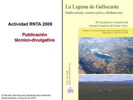 Publicación Gallocanta - Asociación Española de Teledetección