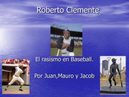Roberto Clemente - SabinSpanishClass