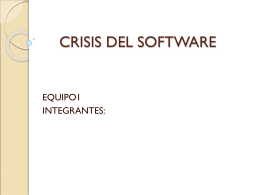 crisis del software - educa