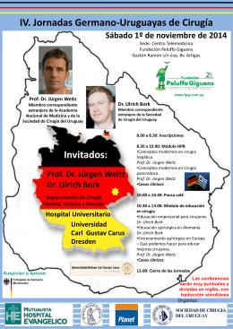Dr. Ulrich Bork - Sociedad de Cirugía de Uruguay