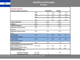 Ficha_Nicaragua - Secretaría de Economía