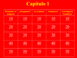 Slide 1 - espanol1detj