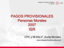 COLEGIO DE CONTADORES PÚBLICOS DE MÉXICO, A.C.