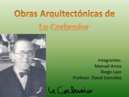 Obras arquitectónicas de Le Corbusier