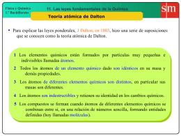 1. Las 4 hipótesis Dalton
