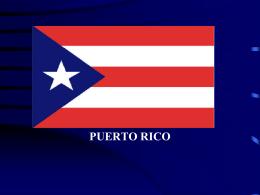 puerto rico - Mrs. Lopez Spanish