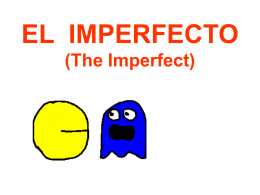 El imperfecto - Senor Rudis 6.0