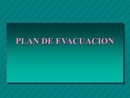 Lala PLAN DE EVACUACION