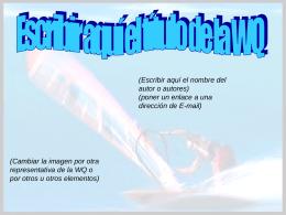 Plantilla webquest