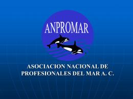 Anpromar - Facultad de Ciencias Marinas