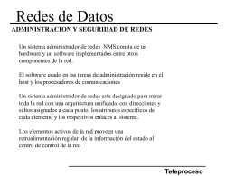 Redes de Datos (Teleproceso)