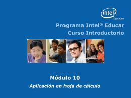 Módulo 10 - INTEL