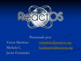 ReactOS. El Proyecto