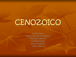 CENOZOICO - BioellaWiki