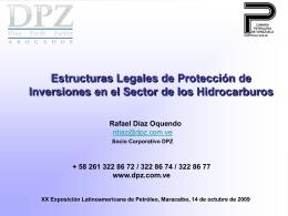 Protección de Inversiones 14/10/09