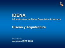 IDENA.TCSA.JIDEE 2004 - PCyP SITNA