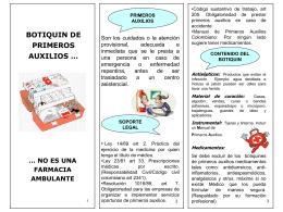 Botiquin de primeros auxilios (185344) - gth-inovaccion-sst