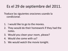 Es el 28 de septiembre del 2011.