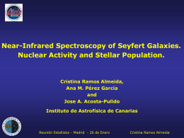 Near-Infrared spectroscopy of Seyfert galaxies