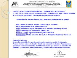 Diapositiva 1 - Universidad Nacional de Misiones
