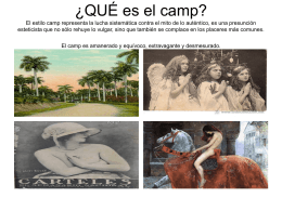 camp y kistch - WordPress.com