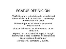EGATUR DEFINICIÓN COMPAT